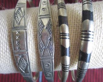 African Iron Cuff Bracelets