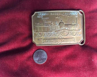 Beautiful Old Belt Buckle with Tiffany Marking
