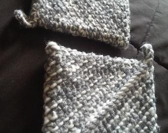 Handmade thick crocheted potholders
