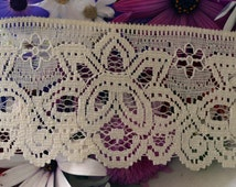 Cream Lace, CR009, 6.6cm wide, light weight,