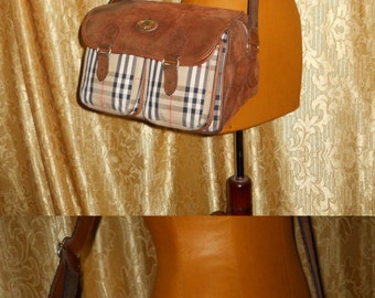 Genuine vintage Burberrys bag made in Italy
