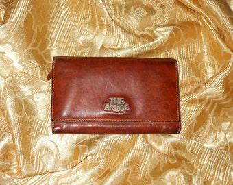 Genuine vintage The Bridge wallet - genuine leather
