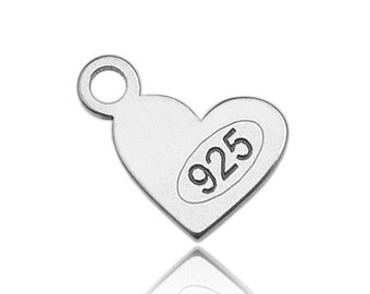 Chain Tab Sterling Silver 925