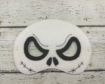 Jack Children's Felt Mask  - Costume - Theater - Dress Up - Halloween - Face Mask - Pretend Play - Party Favor