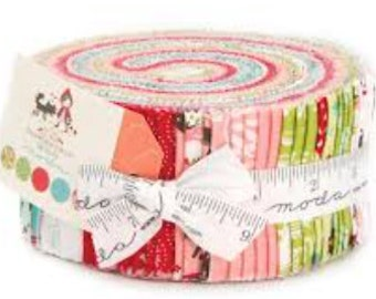Lil' Red Jelly Roll by Stacy Iest Hsu for Moda