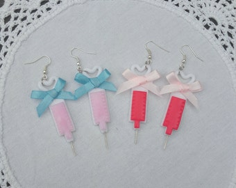 Glitter Injection menhera ymikawaii earrings