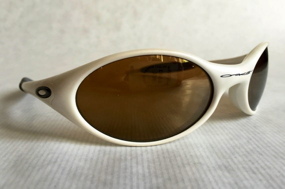 oakley eye jacket  oakley eye jacket 1.0 pearl vintage sunglasses new unworn deadstock