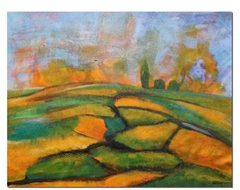 Landscape Painting, Modern Art, Canvas Wall Art, Abstract Art, Abstract Painting, Large Wall Art, Abstract Oil Painting, Wall Art Decor