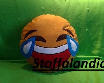 Pillow Emoticons Laugh gift idea