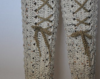 Aran Fleck Leg Warmers