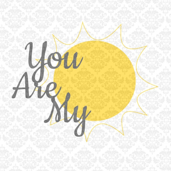 Nursery Set Twinkle Twinkle I see the Moon You are my sunshine SVG STUDIO Ai EPS Scalable Vector Instant Download Commercial Cutting file
