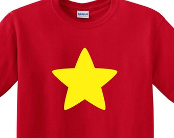 Steven Universe YOUTH SIZE Cosplay Fan Art Tee Shirt Star Super hero FREE Shipping