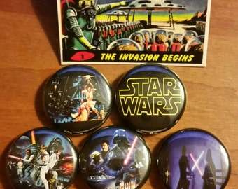 Star Wars 1 inch button set