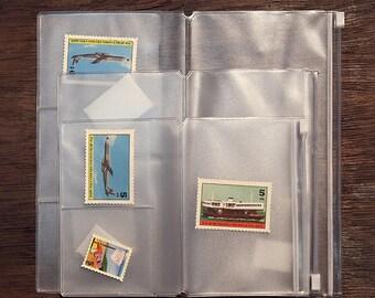 Traveler's Journal PVC Zipper Pouch & Card Holder