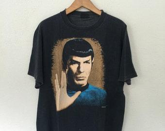 Vintage Spock Star Trek Movie T Shirt