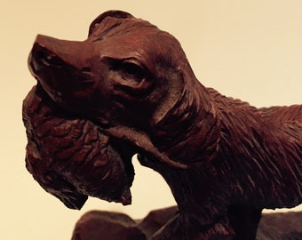 Red mill dog figure