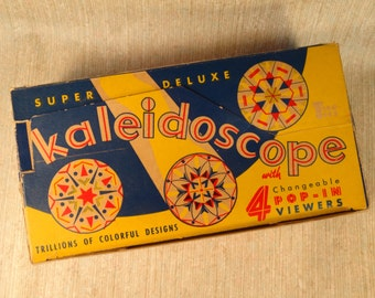 SALE!!!  Tico Toys Super Deluxe Kaleidoscope in Box