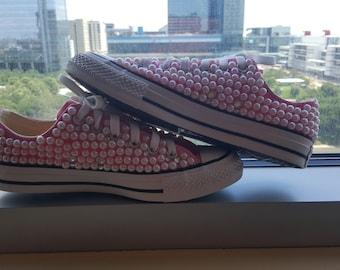 Pearled Converse