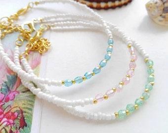 White beach bracelet, maritime jewelry,resort jewelry, resort bracelet, beachboho bracelet, beach boho jewelry, white bracelet, sea bracelet