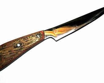1095 high carbon steel fillet knife