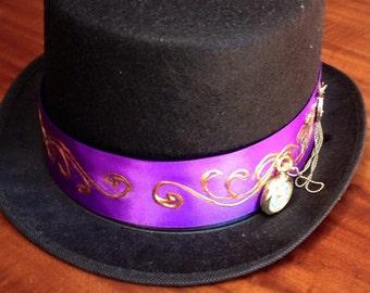 Steampunk watch Top Hat
