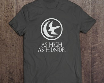 As High As Honor - House Arryn Sigil - Game of Thrones T-shirt