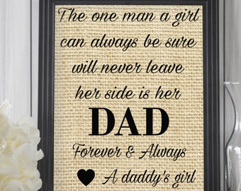 Father's Day Gift, Daddy's Girl, Gift From Daughter