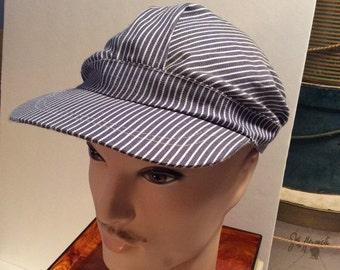 50% Off Sale Vintage Railroad Hat/Cap