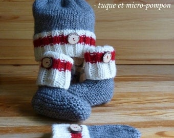All wool baby socks
