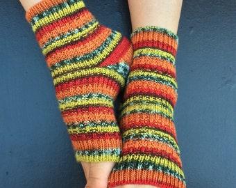 Hand Knit Pedicure Socks (5)