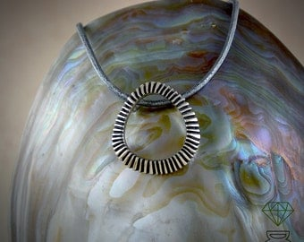 Stigma pendant necklace,sterling silver pendant