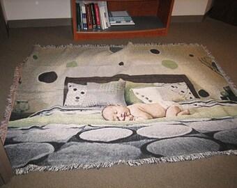 Baby Photo Blanket, Baby Blanket, Baby Blankets, Baby Blankets Personalized, Baby Blanket Personalised, New Baby Gift, Baby Shower Gift