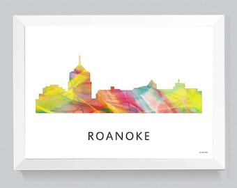 Roanoke Virginia Skyline WB1
