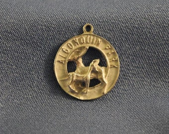 Algonquin Park Ontario Canada sterling silver charm