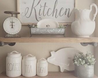 Kitchen|Wood Sign