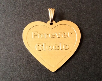 "Pendant ""Famous Forever"""