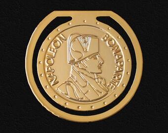 24 karat gold plated bookmark