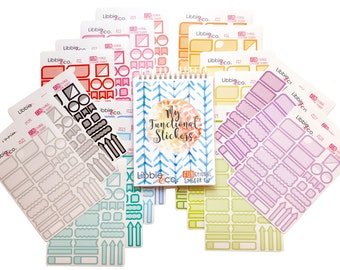 Functional Sticker Binder!!!  Made up of 21 pages of Stickers!!