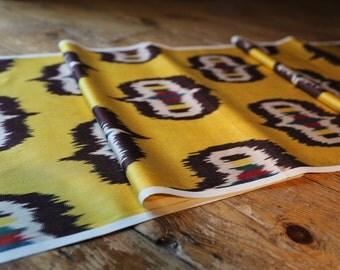 Handloomed Ikat Fabric UZ 23