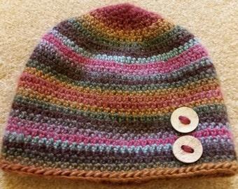 Women's Crocheted Hat