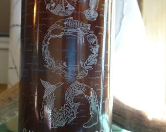 Abita SOS Charitable pilsner beer bottle candle