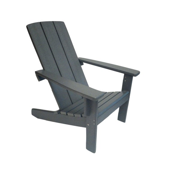 Adirondack Chair Modern Style Made From Poly Wood