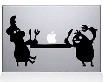 Apple Feast apple macbook laptop decal sticker