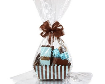 Clear Large Gift Packaging Cellophane Bags 18in. X 30in. - 10pack