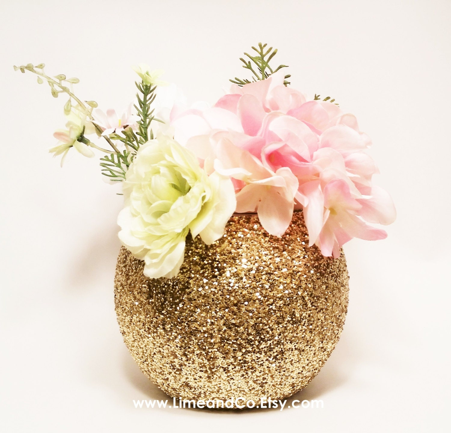 Wedding centerpiece bridal shower decorations gold decor
