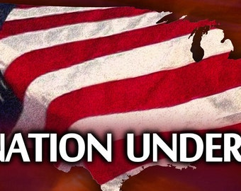 One nation under God! . . .  / Yard Banner (G5915-1)