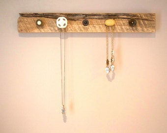 Reclaimed Wood / Barn Board Jewelry and Scarf Rack (V4)
