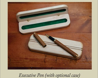 Hand-turned Pens and Cases