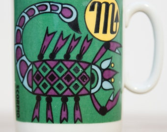 Scorpio Zodiac Ceramic Coffee Mug