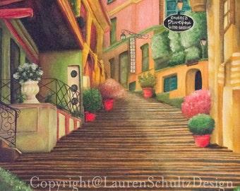 Endless Stairway Print